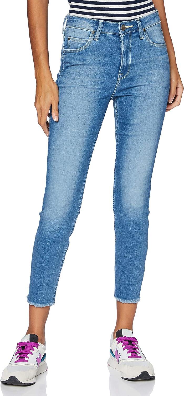Lee Damen Scarlett Skinny Jeans Daryl Raw