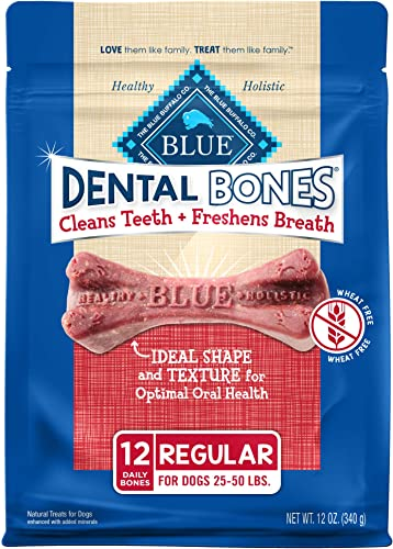Blue-Buffalo-Dental-Bones-Natural-Adult-Dental-Chew-Dog-Treats,-Regular-12-oz-bag