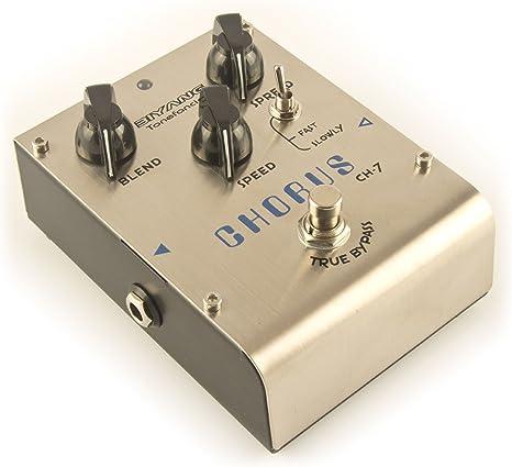 Biyang CH-7 - Pedal de efectos de bajo eléctrico para guitarra ...
