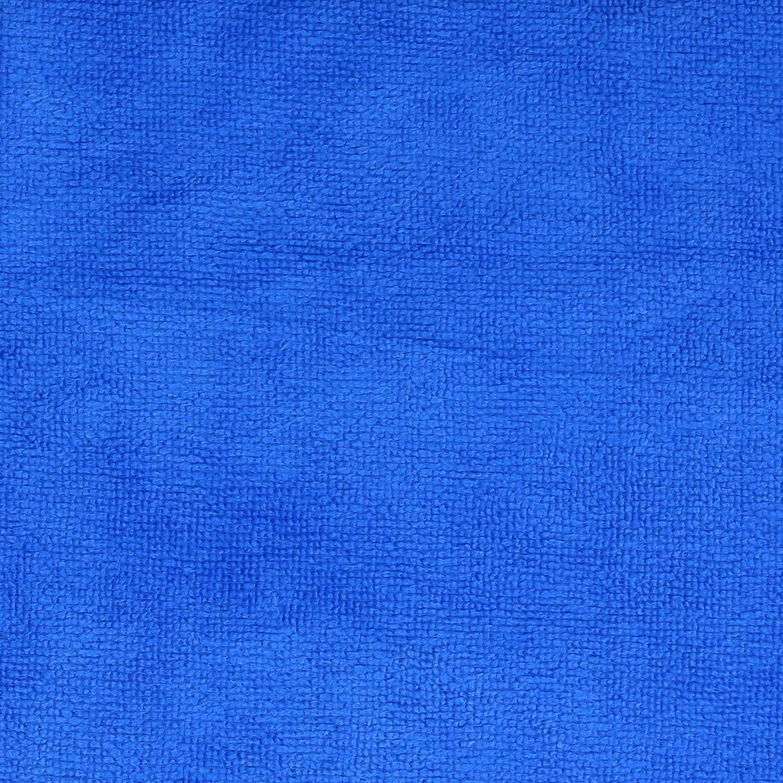 22 x 16 cm com-four/® 3X Set Chenille Putz,- und Waschhandschuh in Neongr/ün Microfaser 003 St/ück - neongr/ün