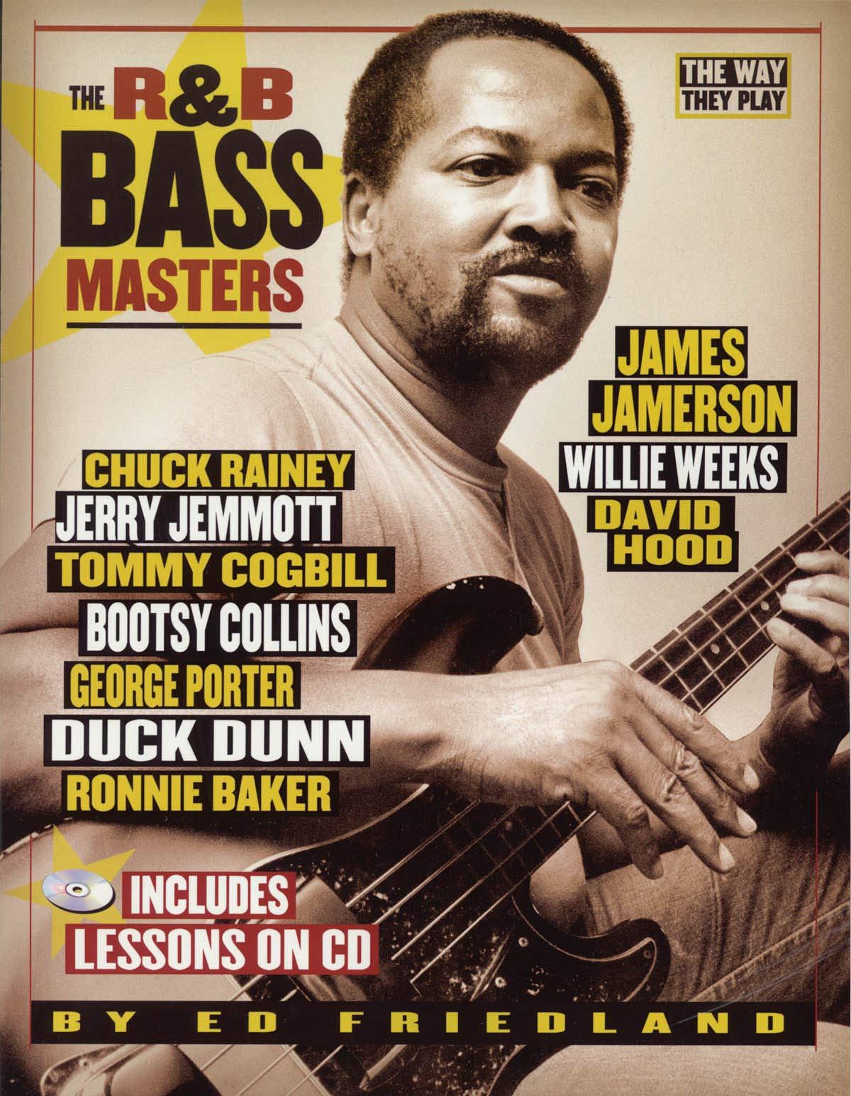 Amazon com: R&B Bass Masters: The Way They Play (0884088058241): Ed