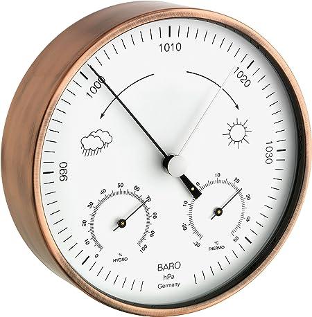 Barometer Hygrometer Set Analog Wetterstation Luftdruck Luftfeuchte Wettertrend