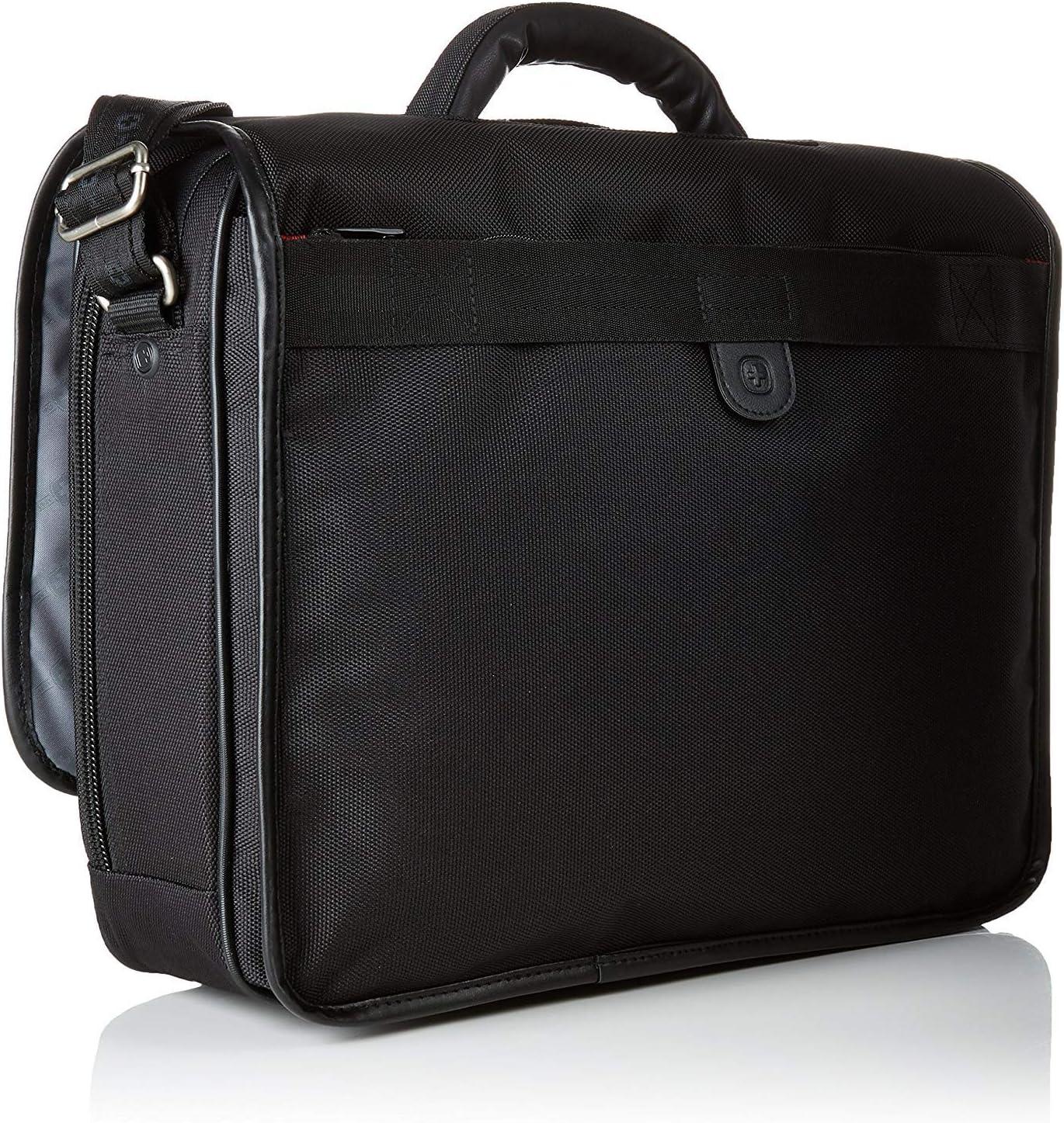 Wenger//SwissGear Flight Portfolio Black//Grey Model 67178140