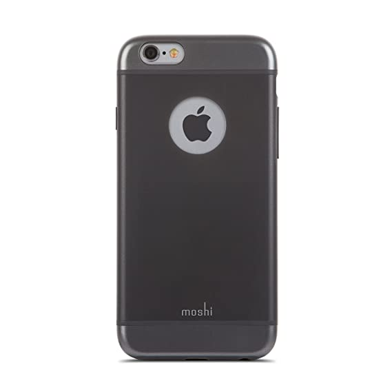 uk availability ea02a 3bbb8 Moshi iGlaze Ultra Slim iPhone 6/6s Case - Black