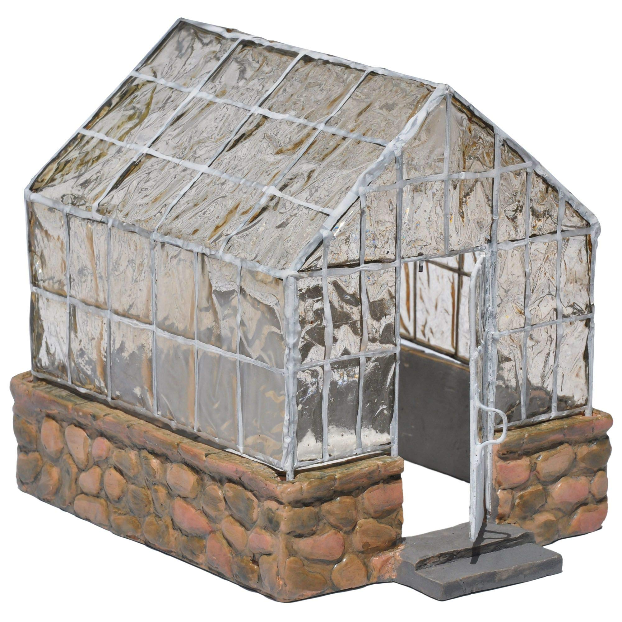 Jeremie Corporation Greenhouse for Miniature Garden, Fairy Garden