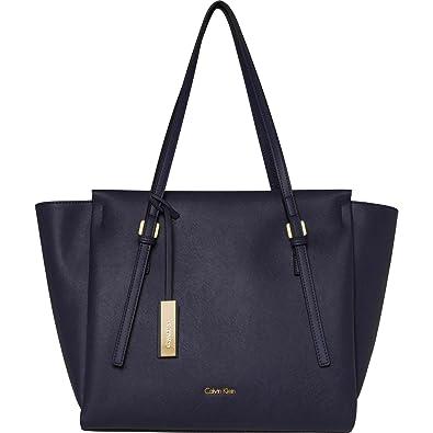 hand bag woman K60K603790 001 EDIT LARGE SHOPPER Calvin Klein 9vLCHH5cqd