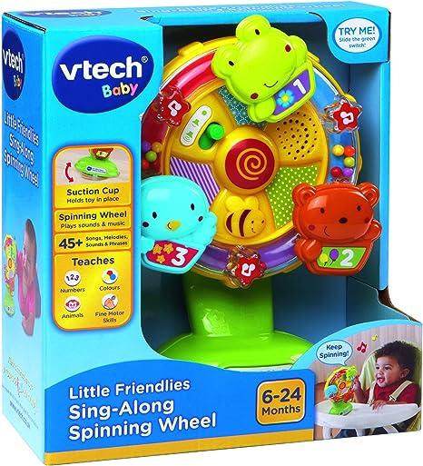 VTech Baby 165903 Little Friendlies Sing Along Spinnrad ...