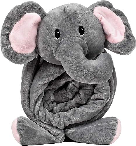 Elephant Baby Blanket Soft Cute Blanket For Kids Elephant Nursery Room Baby Shower Gift Home Kitchen