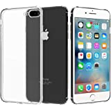 Migeec Compatible with iPhone 6 Plus Case and iPhone 6s Plus Case - Clear Soft TPU Bumper [Shock-Absorbing] Full…