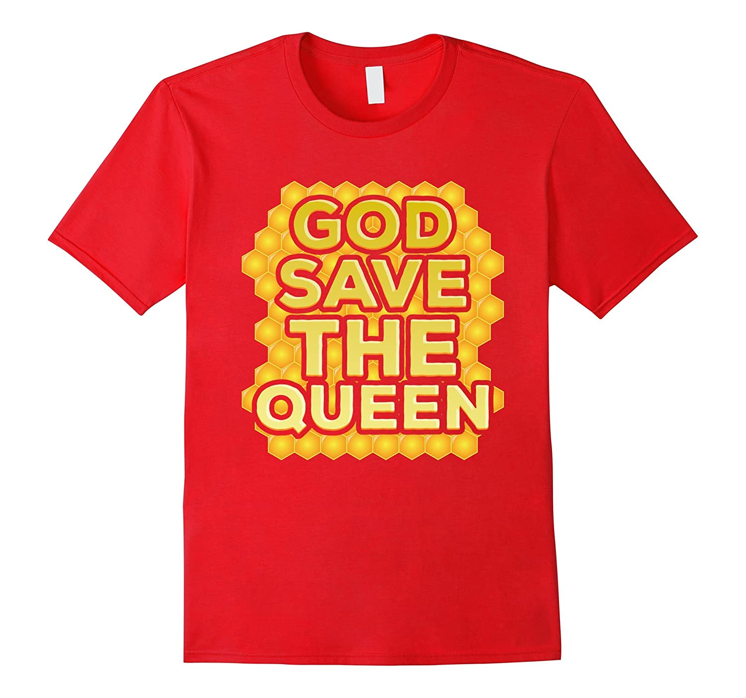 Bees T-shirt - God Save The Queen-FL