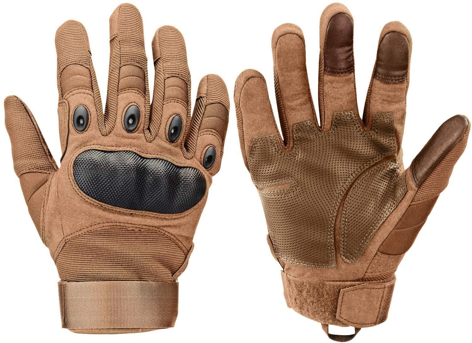 Xnuoyo Guantes para moto (3 dedos táctiles)
