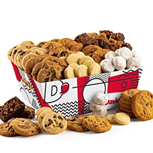 David's Cookie Crate – 6Lbs Assorted Cookies – Delicious Traditional Recipes – Individually Packed for Extra Freshness – Ideal for All Occasions, Office, Parties, Birthdays