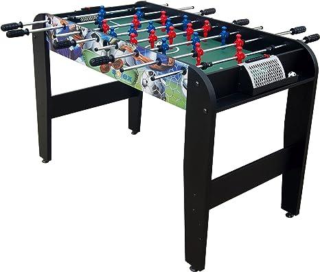 Solex Starter 4 90422 - Mesa de futbolín, 4 Barras, 120,5 x 61 x 79,5 cm: Amazon.es: Deportes y aire libre
