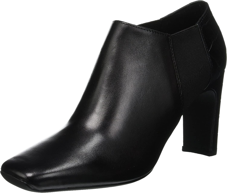 TALLA 37 EU. Geox D Vivyanne High C, Zapatos de Tacón para Mujer