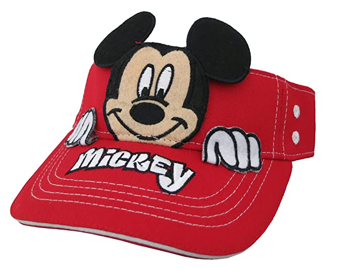 Amazon.com  Disney Mickey Mouse Boys Visor Cap  2013   Clothing 0fd9ebe0c414
