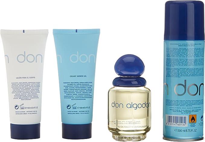 Don Algodon, Set de fragancias para hombres - 40 gr.: Amazon.es ...