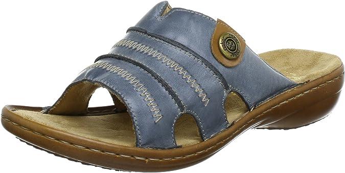 RIEKER Schuhe Pantolette 60812-00 schwarz NEU
