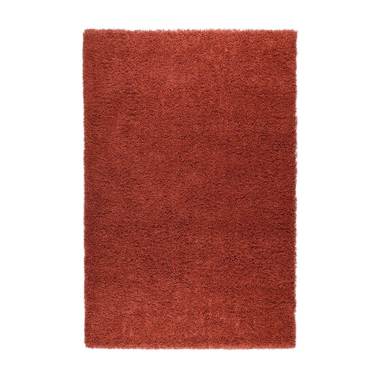 havatex Soft Shaggy Tender - Farbe wählbar | Edler Melange-Effekt | strapazierfähig robust pflegeleicht | schadstoffgeprüft Öko-Tex Siegel, Farbe:Orange, Größe:200 x 290 cm