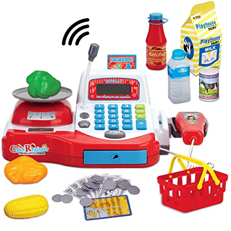 amazon com multi functional educational pretend play electronic toy