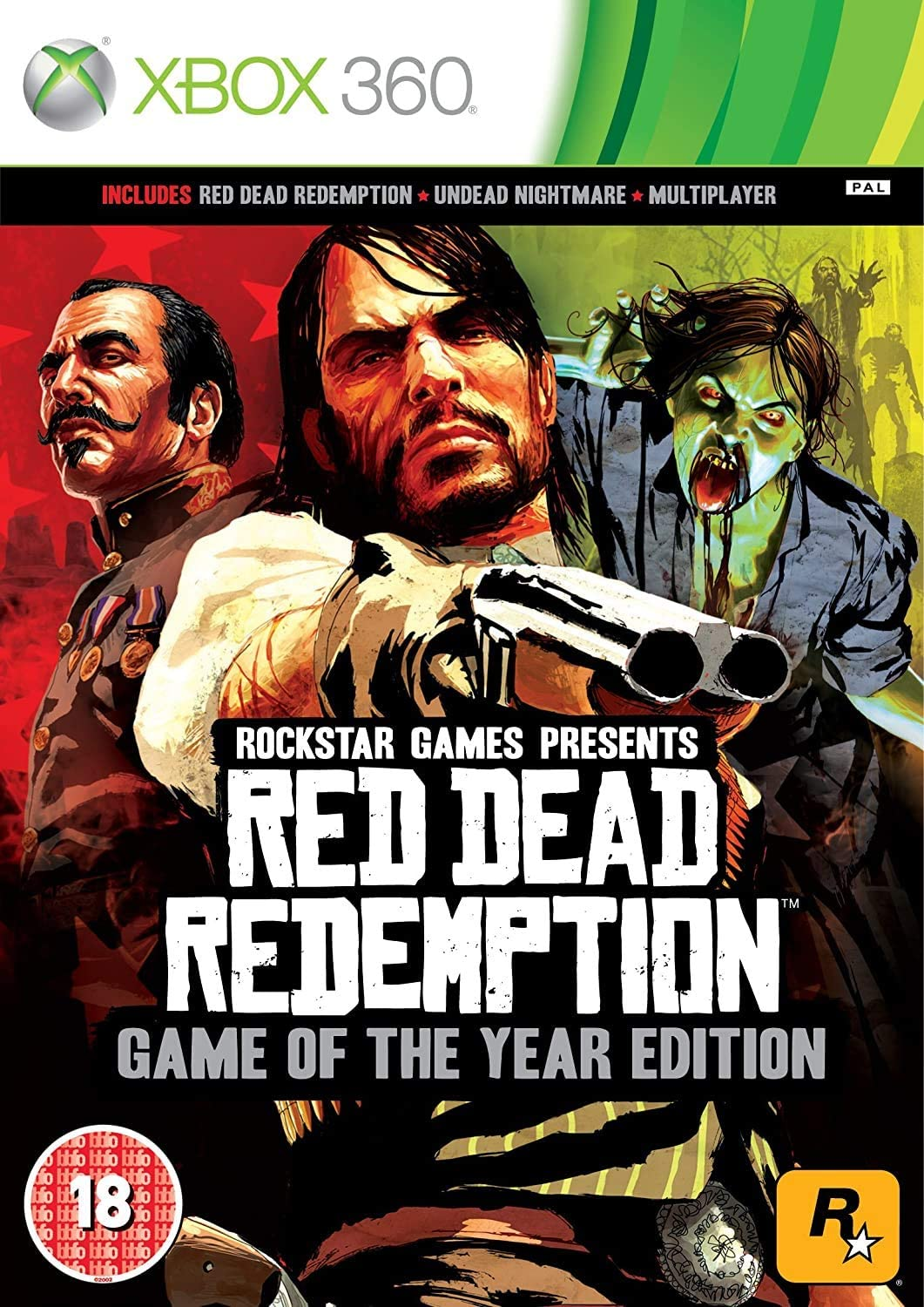 Red Dead Redemption Game Of The Year (Classics) [Importación ...