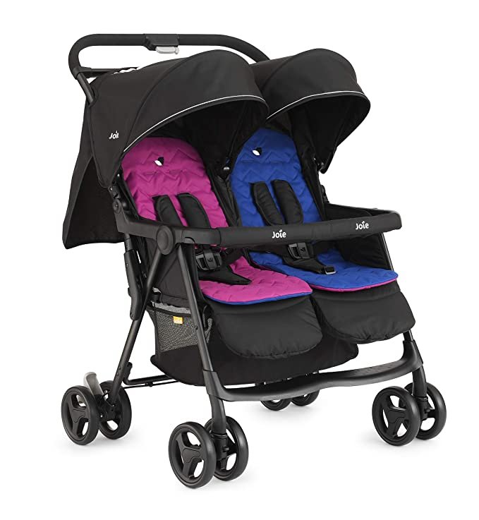 Joie Aire Stroller Twin W/RC Pink & Blue