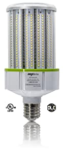 80W LED CORN LIGHT BULB 5000K Replaces 600W, 9,200 lumens Mogul Base E39, 100-277V AC UL/cUL DLC
