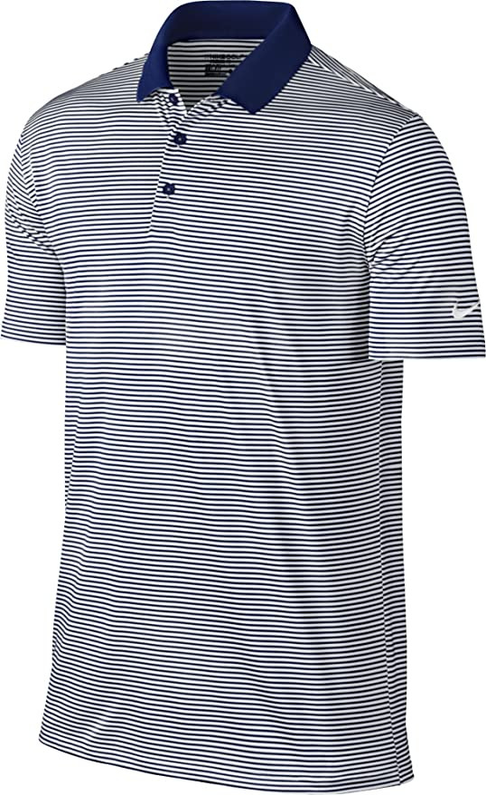Nike Men's Dry Victory Stripe Polo by Nike