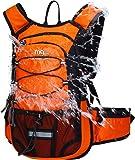 Mubasel Gear Mochila de hidratación aislada con vejiga de 2 L sin BPA – Mantiene el líquido fresco hasta 4 horas – para correr, senderismo, ciclismo, acampada