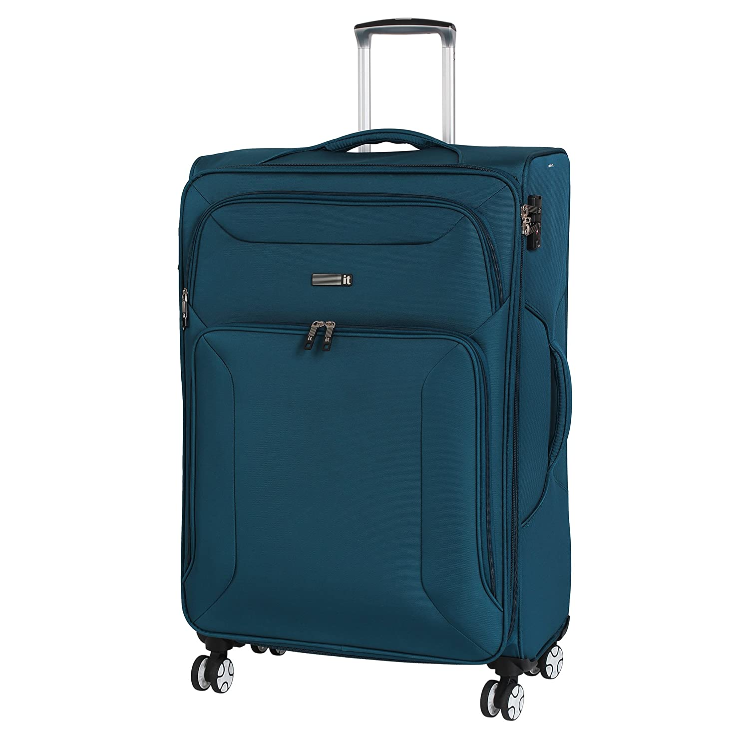 IT Luggage 12-2177-08UOL29-S129 Fascia 31.5 8 Wheel Spinner, Ruby Wine, Checked - Large