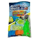Splash Toys 31115 - Original Bunch O Balloon Wasserbomben, 100 Wasserbomben in 60 Sekunden - selbstschließend ohne Knoten
