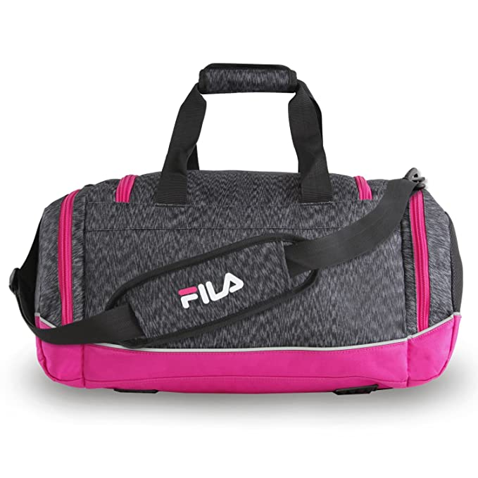 744f6d58ed3be6 Amazon.com | Fila Sprinter Small Duffel Gym Sports Bag, Static Pink, One  Size | Sports Duffels