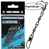 Angel Berger Dreifach Bombardawirbel Sbirulinowirbel 5 Stück Wirbel
