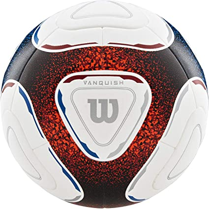 Wilson WTE9809XB05 Balón de Fútbol, Vanquish, Principiantes, Tpu ...