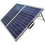 ECO-WORTHY 100 W Watt Portable Kits -100W 2x50W Folding PV Solar Panel 12V RV Boat Off Grid W 15A Charge Controller