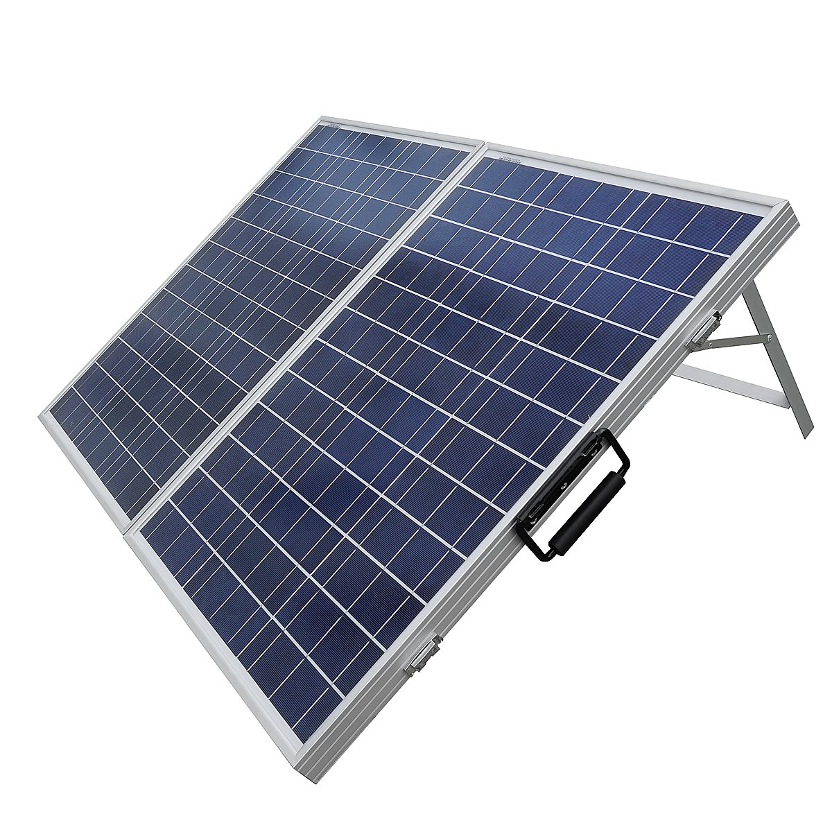 eco worthy 100w solarmodul 12v tragbar solarpanel 12. Black Bedroom Furniture Sets. Home Design Ideas