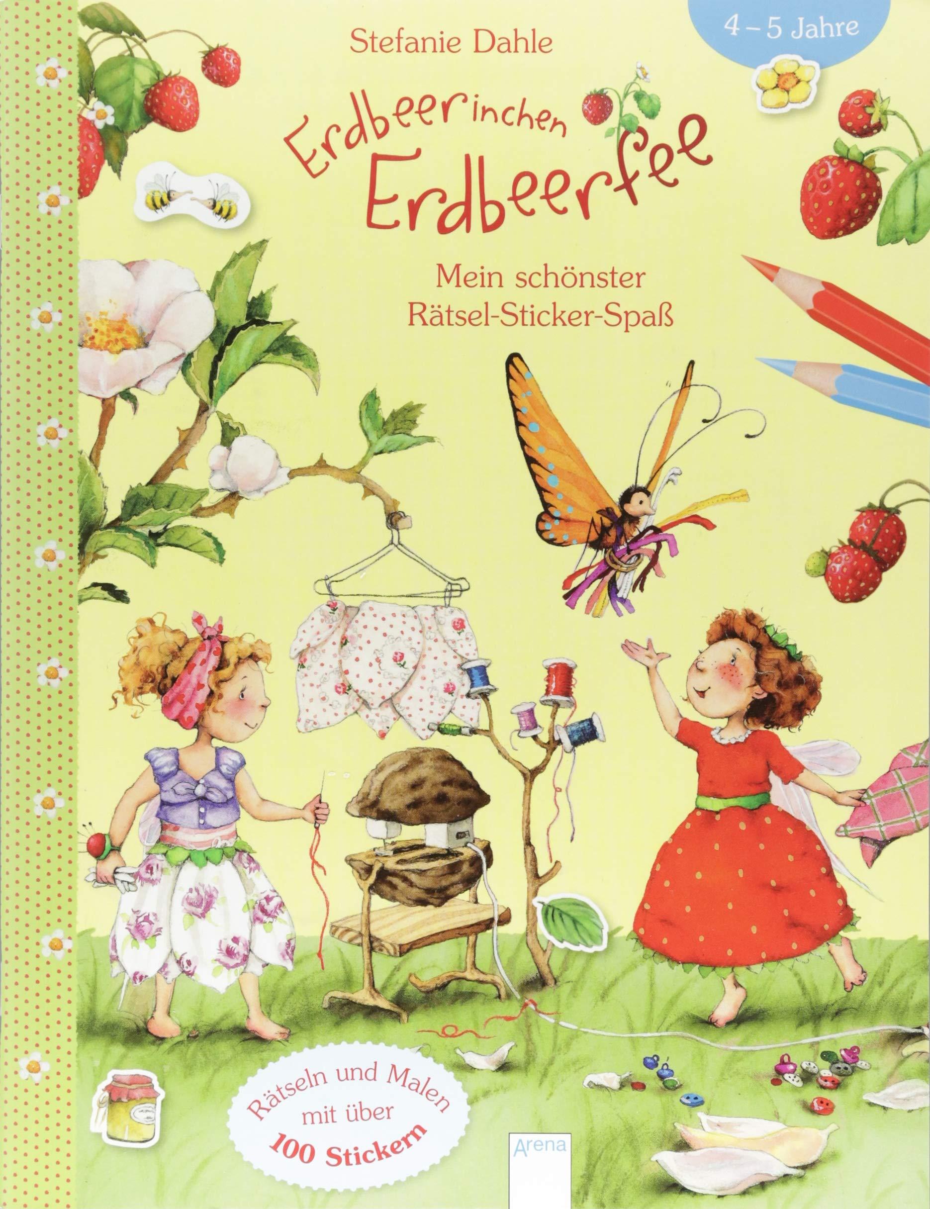Erdbeerinchen Erdbeerfee. Mein schönster Rätsel-Sticker-Spaß