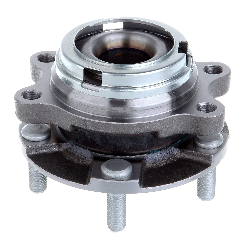 ECCPP New Wheel Bearing Hub Front LH Driver RH Pass EACH for G35 G37X EX35 M56 AWD 5 Lug 052804-5211-1128391
