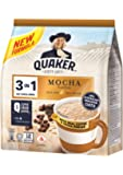 Quaker 3 In 1 Oat Cereal Drink, Mocha, 336 G