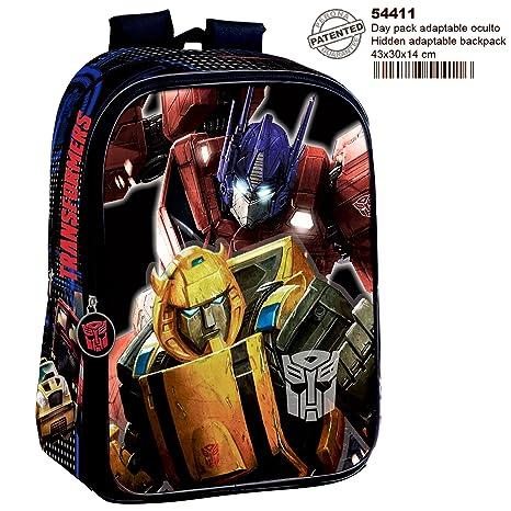 f89006bef7 Perona Transformers Zaino, 43 cm, Multicolore: Amazon.it: Giochi e ...