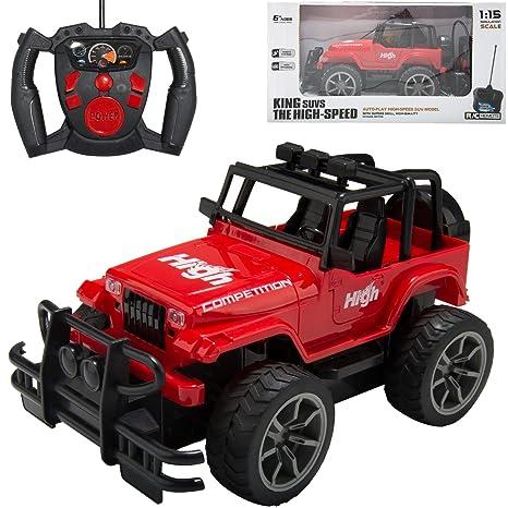 Amazon Com Ebigvalue Rc Remote Control Off Road Jeep Wrangler Full