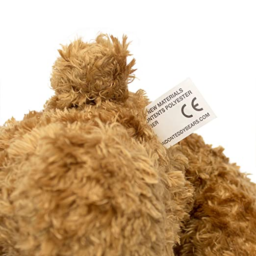 Amazon.com: NEW - IM SORRY LOUISE - Teddy Bear - Cute Soft Cuddly - Gift Present Apology: Toys & Games