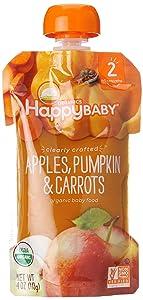HappyBaby CC Organics Apples, Pumpkin & Carrots