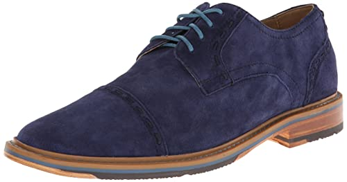 Rockport Men s Park cap Hill Oxford Peacoat Nubuc Oxford 7 W (EE ... 249230b0972