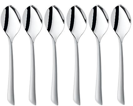 WMF Cubertería Virginia Protect cucharas de café (6 unidades)