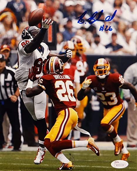 buy popular a7704 1bc38 Bashaud Breeland Autographed 8x10 Redskins Against Texans ...