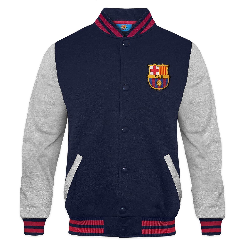 Amazon.com: FC Barcelona Official Gift Boys Varsity Baseball ...