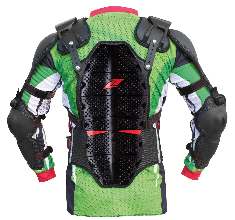 Zandonà Safety Project Per Utilizzo Motocross 190/8, Altezza 188/197 cm (Giro Vita 94-101 cm), Nero, L Zandonà 5418BKLBK