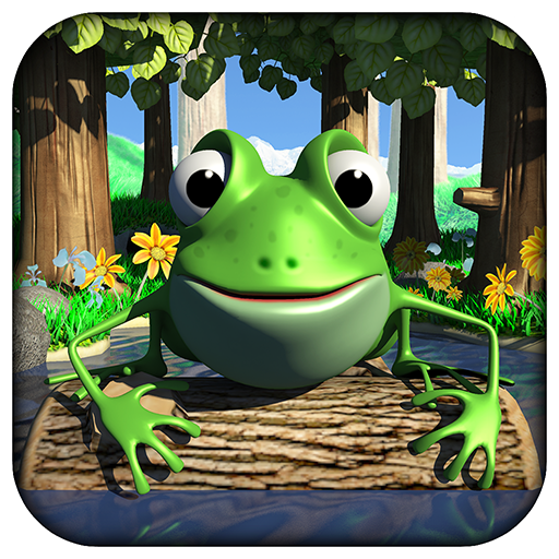 Flippin Frogs Game (Skim It!)