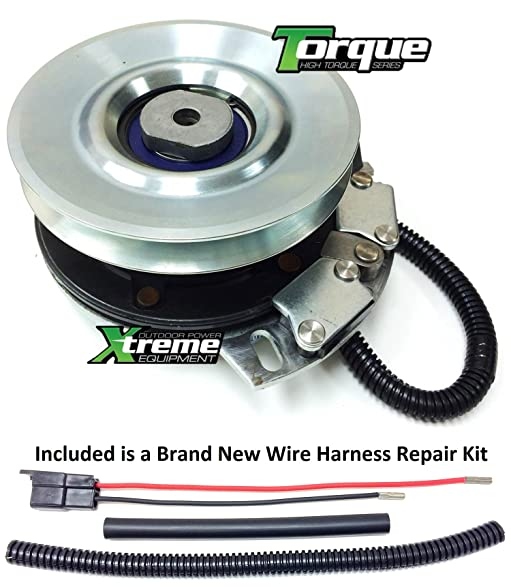 81YmVOJak9L._SY587_ amazon com bundle 2 items pto electric blade clutch, wire cub cadet pto clutch wire harness repair kit at bayanpartner.co