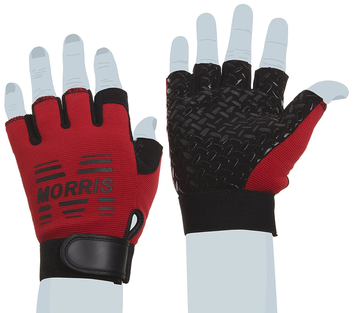 Morris Products 53162 High Performance Anti-Slip Gloves With Fingers Large
